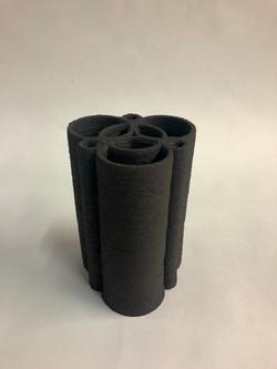 Black Porcelain 3D Print