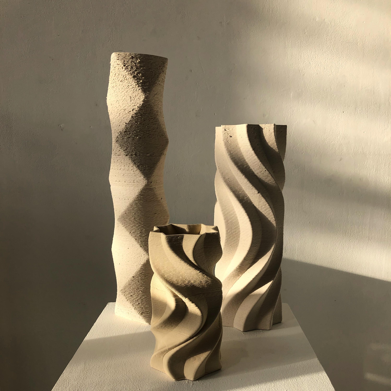 3D Stoneware Prints
