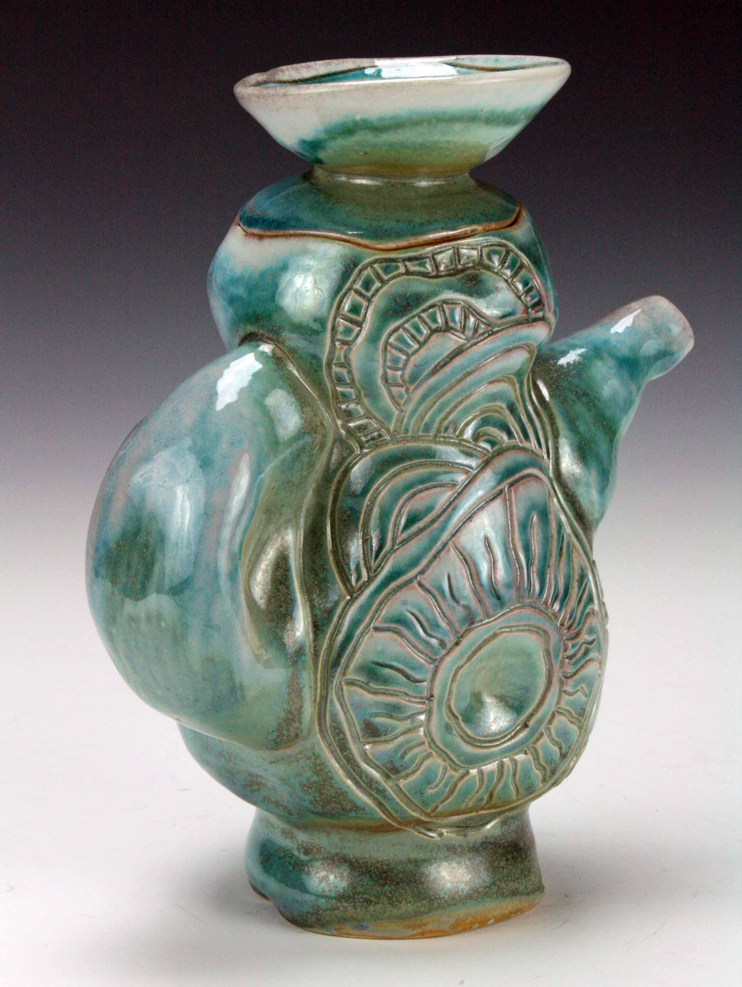Urchin Teapot (side1) 2016