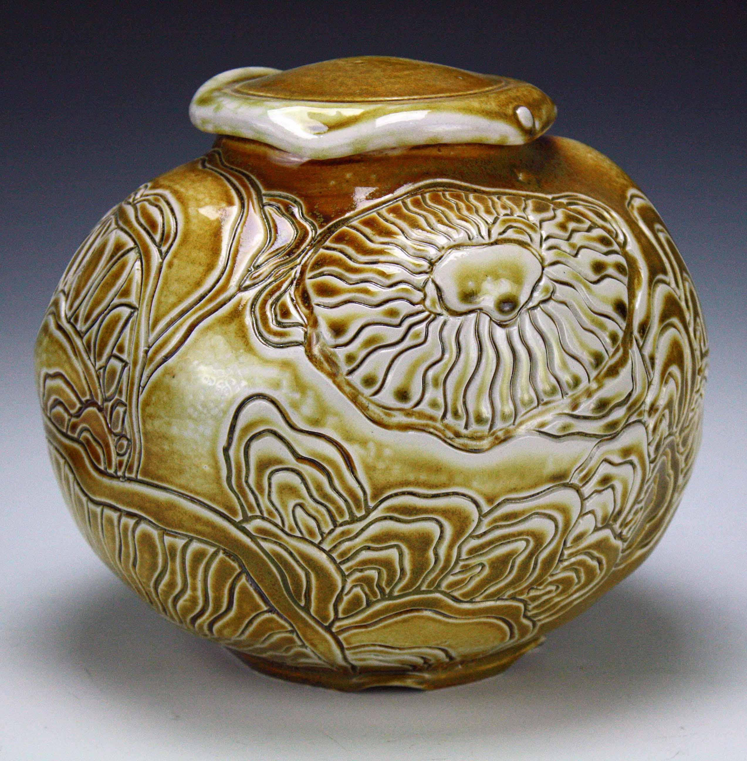 Organic Jar (side 2) 2016