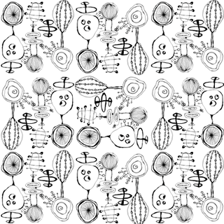 Black and White Organic Midcentury Modern 2018