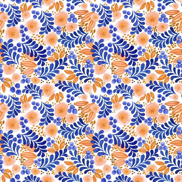 Peaches and Blueberries 2018