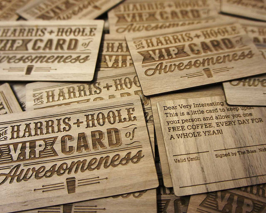 Woodcard - Engraved & Printed Business Cards, Stationery