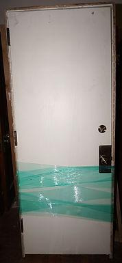 1 Panel Door With Hardware