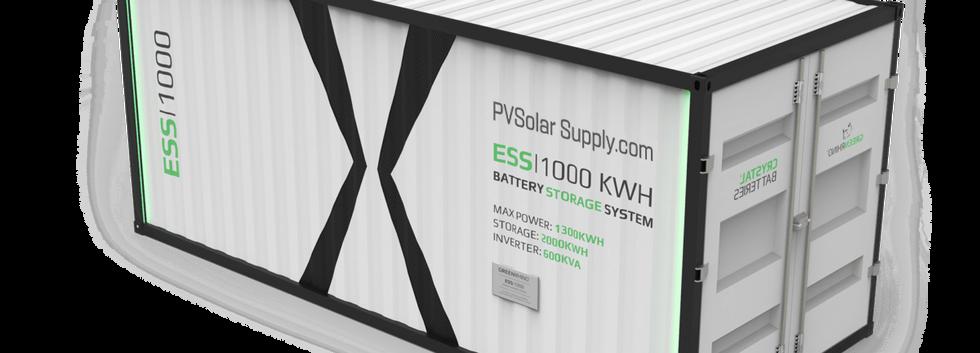Lead Crystal ESS battery storage utility scale
