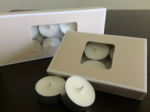 10 pc Soy Tea Lights - Unscented
