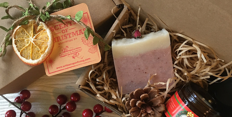 SOAP+ CHRISTMAS CANDLE SET