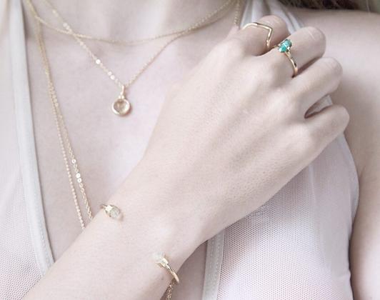 Puntas de cuarzo bracelet