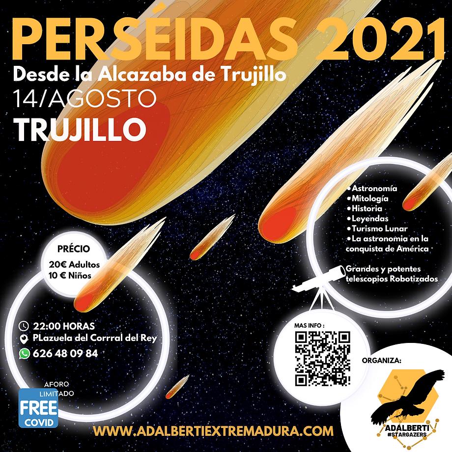 PERSÉIDAS 2021 TRUJILLO