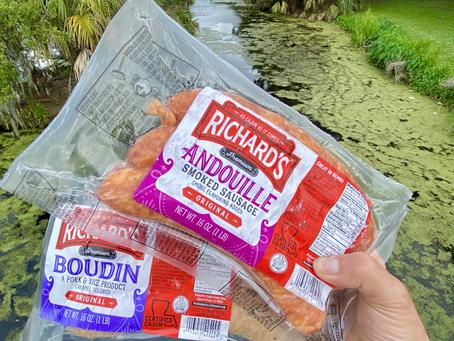 Richard's Cajun Foods Appetizer Recipes!
