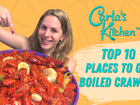 Top 10 Places to get Boiled Crawfish!