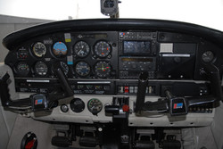 Piper PA28 panel