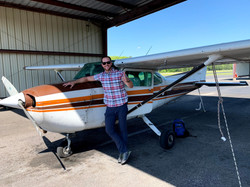 First Solo for Eric S.