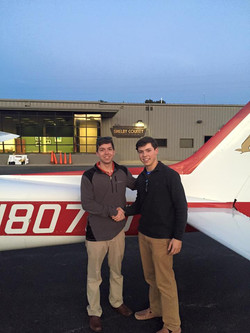 Students first Solo in 700