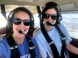 CFI Betsy W. with Student Anna S.