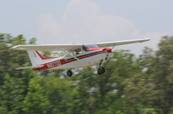 Cessan 700 taking off