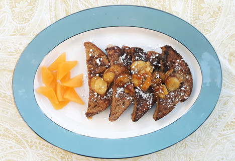 Carmelized Banana French Toast
