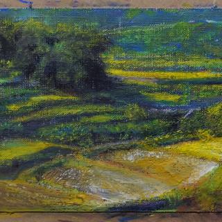 段々畑の里山