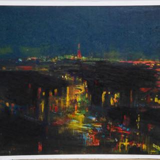 真夜中の景色