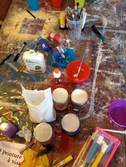 fabrication de peinture