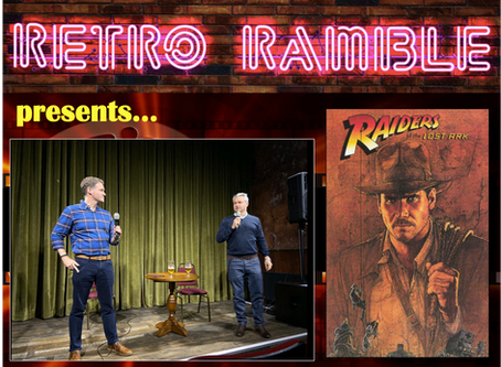 PODCAST: Live Show – Raiders of the Lost Ark