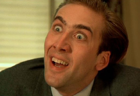 FUNNIES: Nicolas Cage Going Nuts