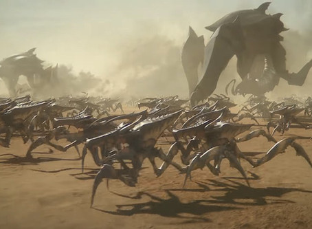 TRAILERS: Starship Troopers: Traitor of Mars