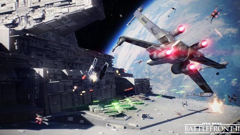 Star Wars Battlefront II - xwings_retroramble.blog