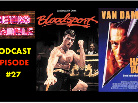 PODCAST: Episode #27 – JCVD Special – Bloodsport & Hard Target