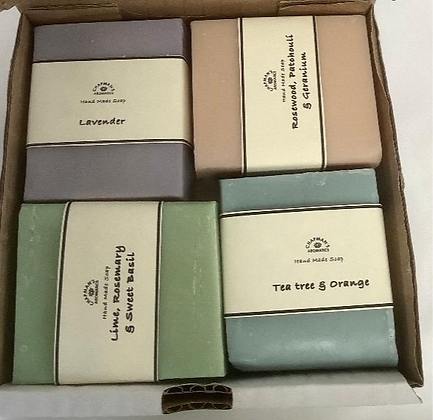 Box of 4 Gift Soaps