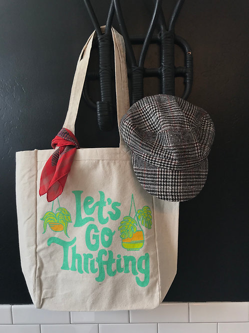 Let's Go Thrifting Tote