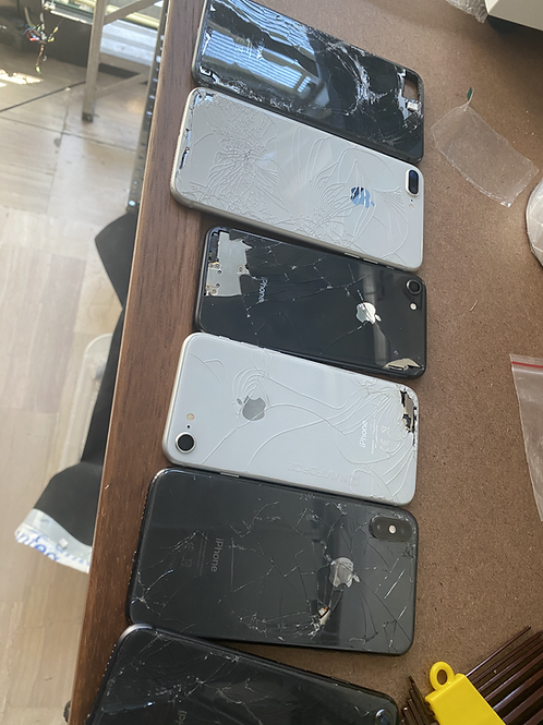 STOCK APPLE IPHONE X ROTTI