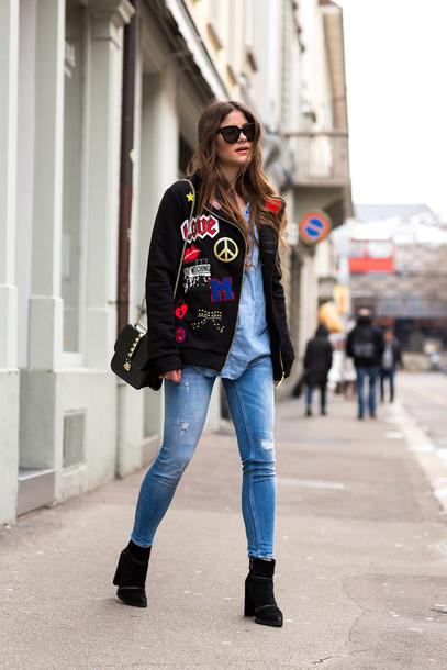 1xi6kw-l-610x610-fashionfraction-blogger-jacket-rippedjeans-patches-coat-shirt-jeans-shoes-bag-sunglasses-jewels