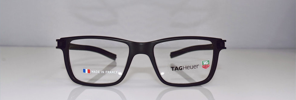 Tag Heuer Authentic Track S Black Small TH7603 007 50-17-145 Eyeglasses