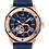 Thumbnail: Bulova  Marine Star Blue RG Automatic 98A227 $595 Watch