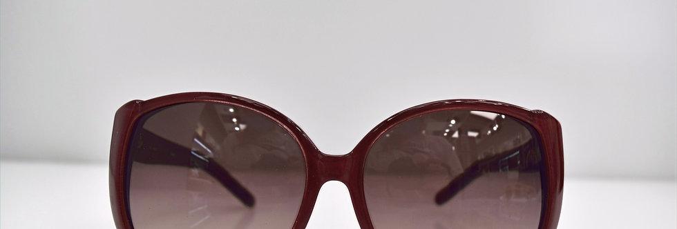 Chloe Bordeaux Crystal Oversized CE607S 604 59-16-135 Sunglasses