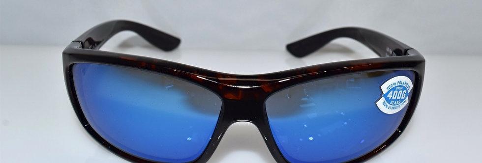 Costa Del Mar Saltbreak Tortoise 400G Glass Polarized BK10 BMGLP Sunglasses