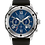 Thumbnail: Bulova Marine Star Black SS Blue Dial Chronograph 98B258 $495 Watch