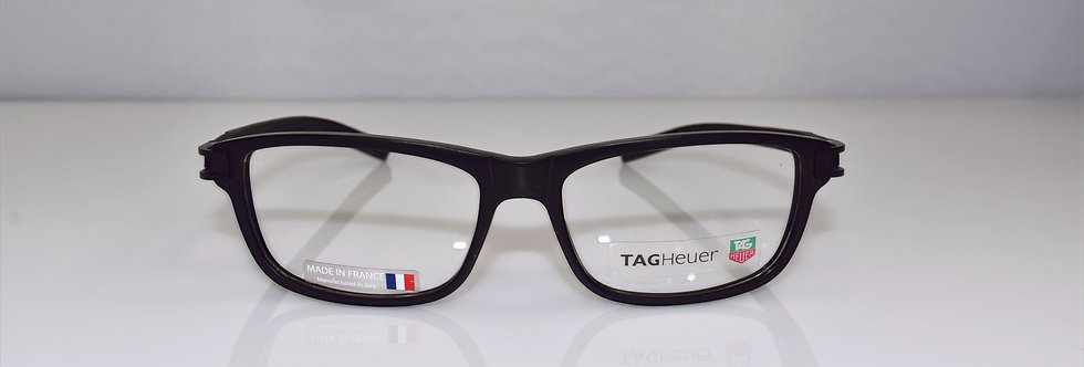 Tag Heuer Authentic Track S Black TH7606 007 54-14-145 Eyeglasses