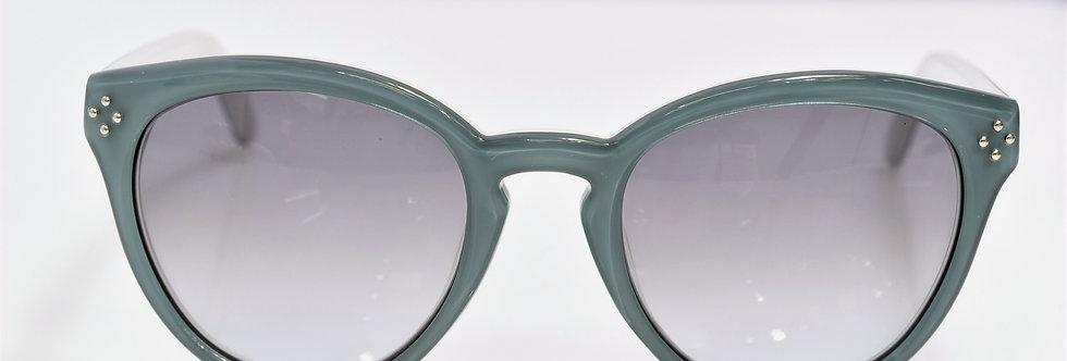 Chloe Aqua White CE630S 442 Small 50-20-135 Sunglasses