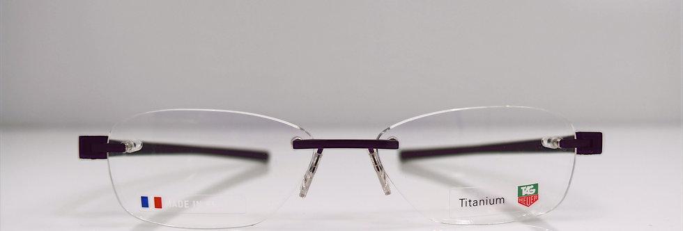 Tag Heuer Authentic Reflex Black TH3944 001 54-16-140Eyeglasses