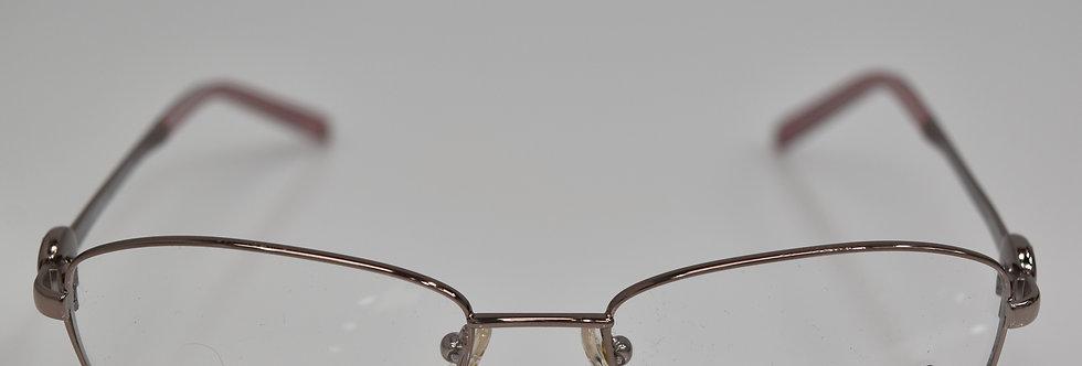 Mont Blanc Women's Gunmetal Pink Rx Optical MB395 034 53-17-140  Eyeglasses