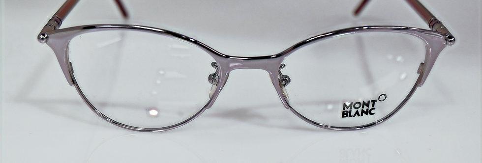 Mont Blanc Women's Small Lilac Purple Rx Optical MB438 072 52-18-135  Eyeglasses