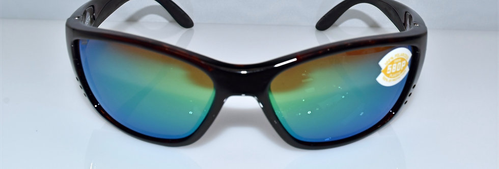 Costa Del Mar Fisch Tortoise 580P Polarized FS10 OGMP Sunglasses