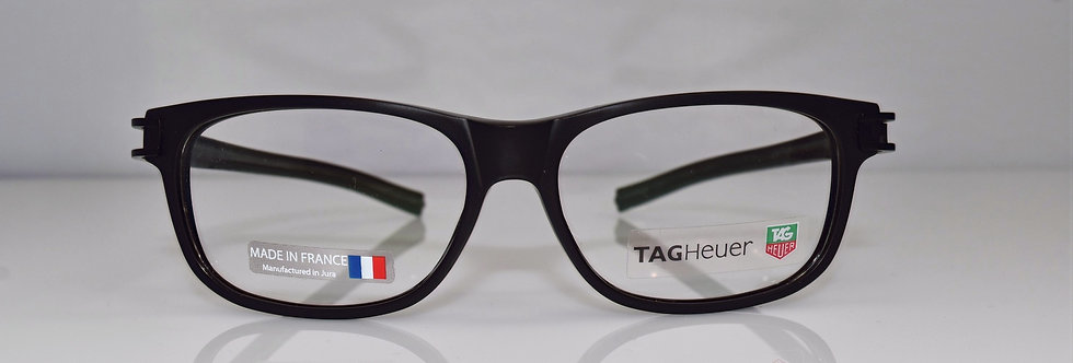 Tag Heuer Authentic Track S Black TH7605 007 56-16-145 Eyeglasses