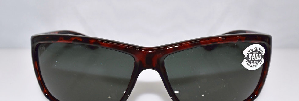Costa Del Mar Mag Bay Tortoise 580G Lenses Polarized AA10 OGGLP Sunglasses