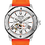 Thumbnail: Bulova  Marine Star Orange SS Automatic 98A226 $550 Watch