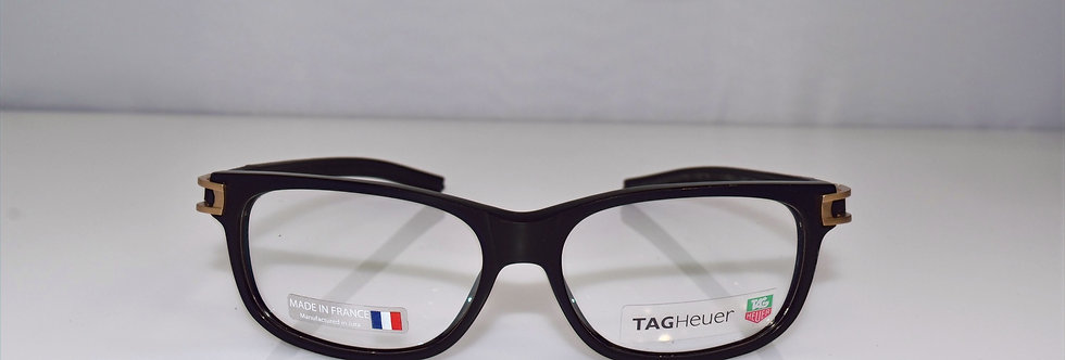 Tag Heuer Authentic Track S Black TH7606 008 54-14-145 Eyeglasses