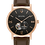 Thumbnail: Bulova American Clipper Automatic Brown Leather 97A155 3 $395 Watch