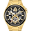 Thumbnail: Bulova Maquina Automatic Skeleton YG Gunmetal  98A178 $675 Watch